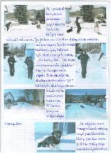 4) Nasze śniegowe zabawy - 8-9 styczeń